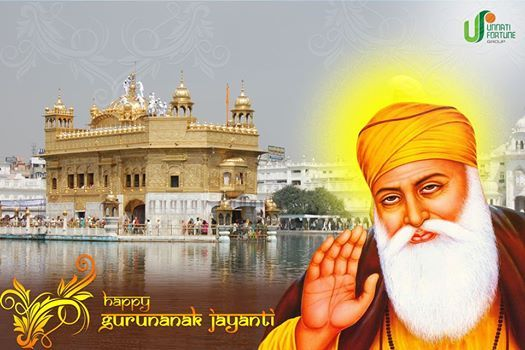 Happy Gurunanak Jayanti...!!! #Guruparv