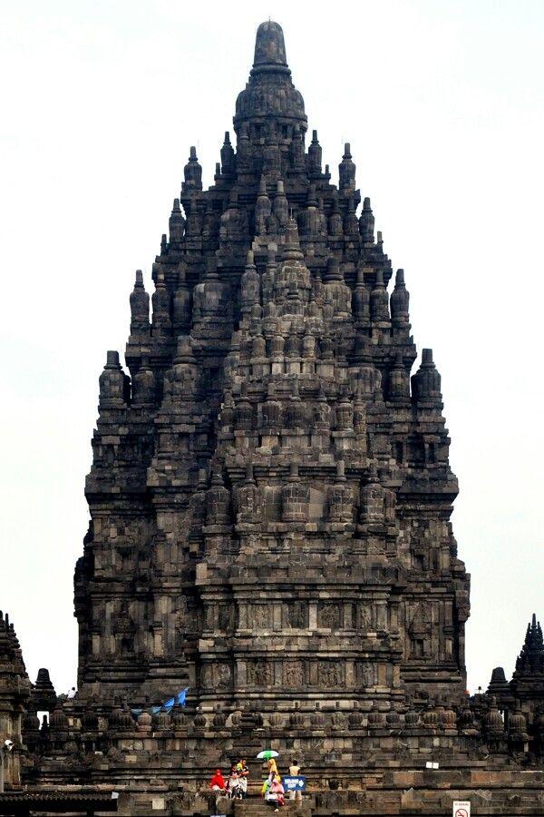 The Prambanan..