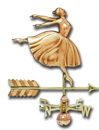 Dancer Copper Weathervane