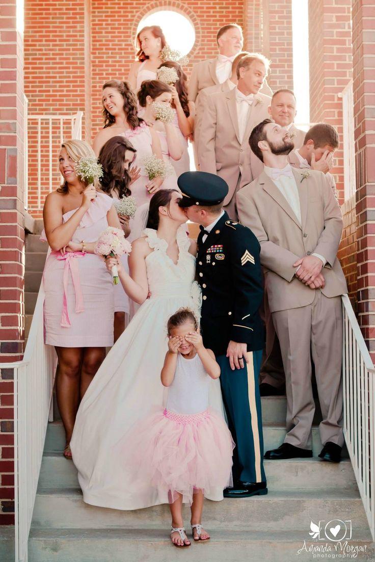 Bridal party, military wedding http://www.amandamorganphotography.net