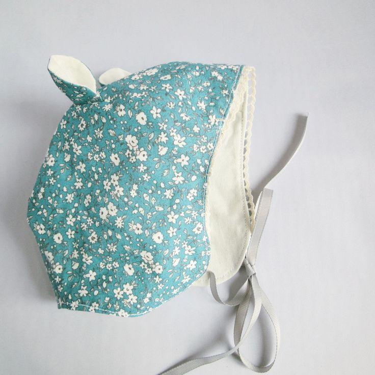Béguin Liberty Bleu 0-6 mois naissance - Intérieur coton bio oeko tex