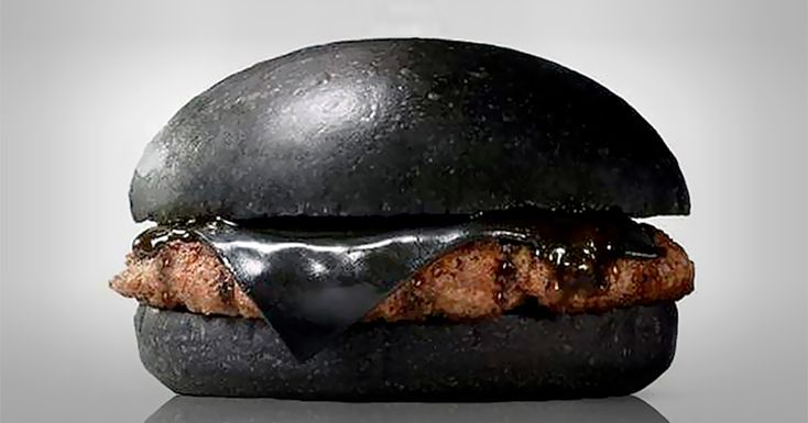 http://www.boredpanda.com/black-burger-king-japan/ Japan's Burger Kings Sell Black Burgers Colored With Bamboo Charcoal And Squid Ink