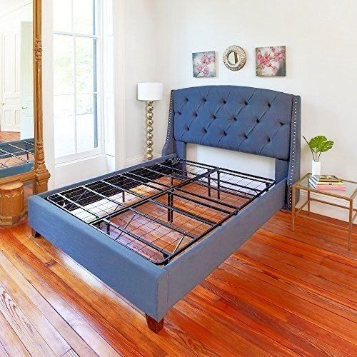 quality design 76634 e5d52 Hercules Platform King Size Heavy Duty Metal Steel Bed Frame ...