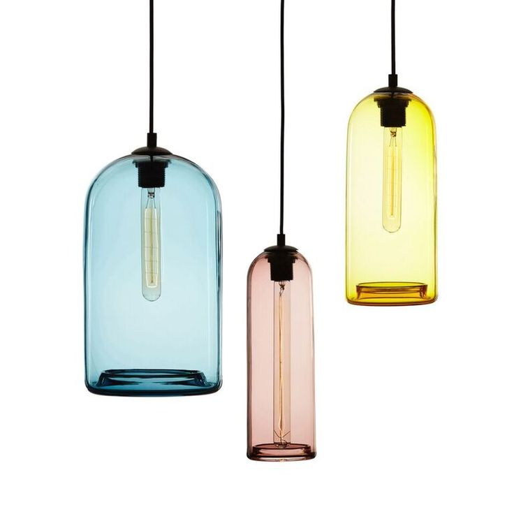 -------CLEO-------  Cleo is a handblown cylindrical light with a rolled return opening.
