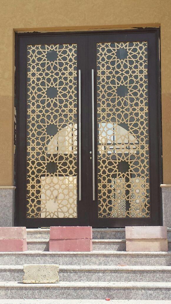 Saudiarabia Riyadh Doors Gates Design Cnc Lifestyle Modern Cadd Beautiful Metaldoor Lasercut ابواب Door Gate Design Iron Gate Design Door Design