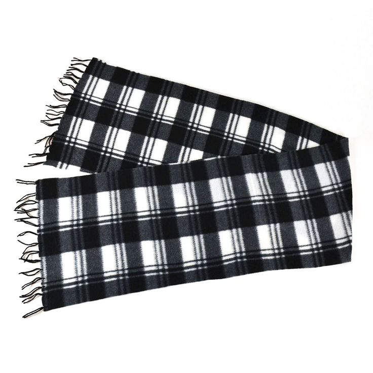 Checked men's scarve black/grey €4,99 http://mymenfashion.com/sjaal-checked-men-s-scarve-black-grey.html