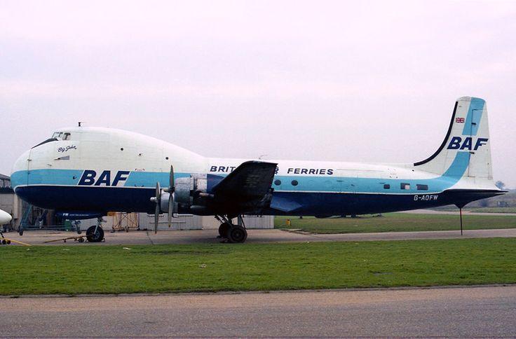 G-AOFW ATL-98 Carvair British Air Ferries