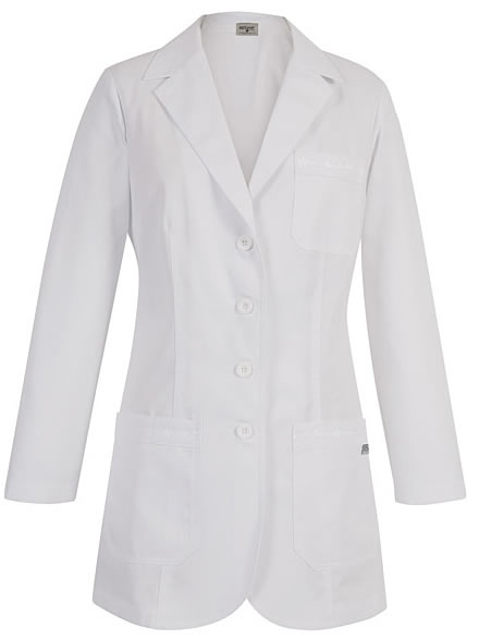 Lab Coat - Grey's Anatomy By Barco Heart Line Lab Coat   Lydias Scrubs and Nursing Uniforms