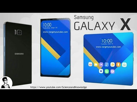 Samsung Galaxy X The First Foldable Phone Https Youtube Com