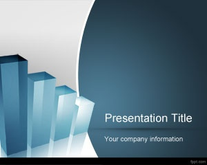Business evaluation PowerPoint template background