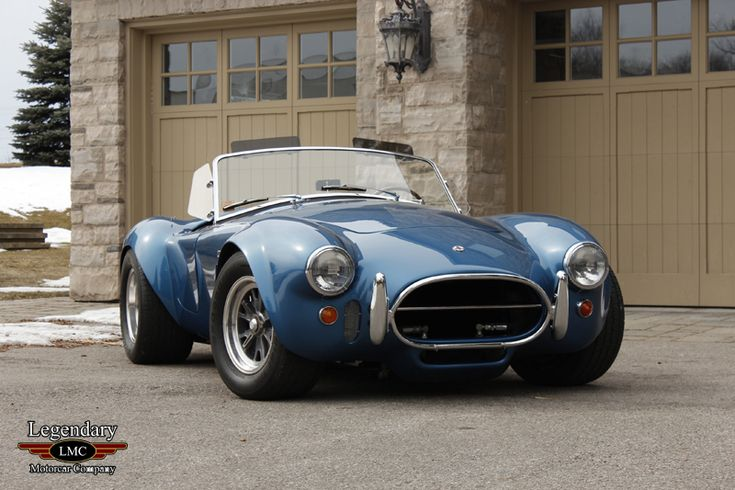Original 1965 Shelby Cobra 427 one of the best looking cars of all time!