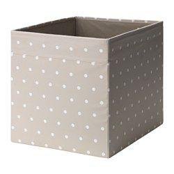 dr na box beige dotted organizing baskets pinterest kinderzimmer kinder zimmer and kallax. Black Bedroom Furniture Sets. Home Design Ideas