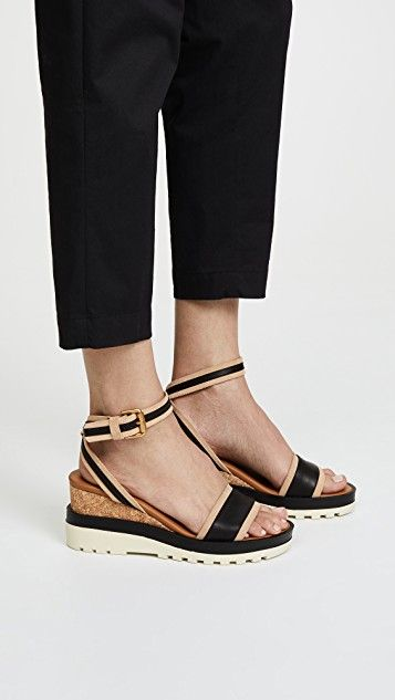 afdc51881b48 See by Chloé Robin Wedge Sandals