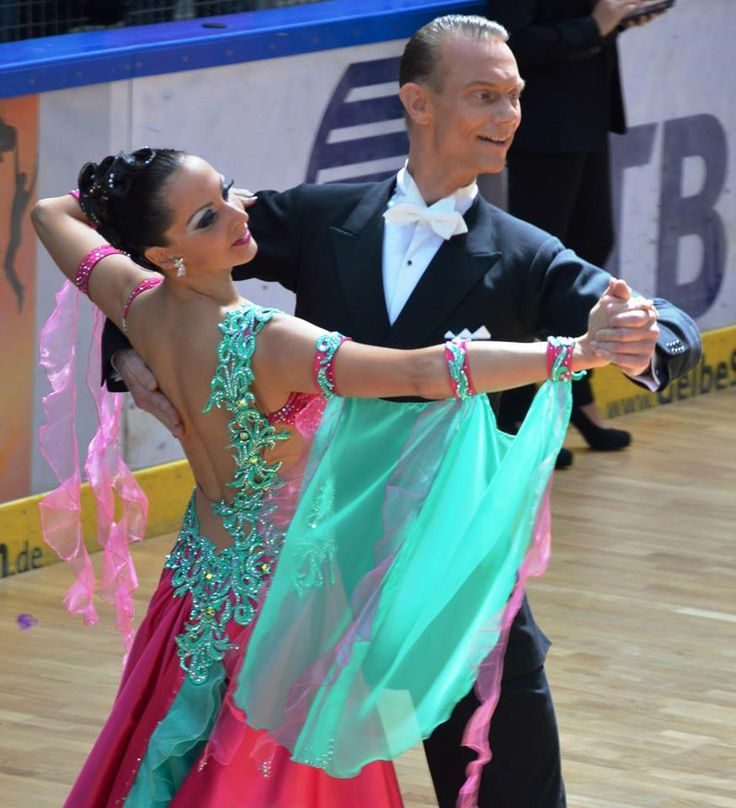 Fuchsia-Pink/Aqua-Turquoise Ballroom Dress For Sale Selavidance.com