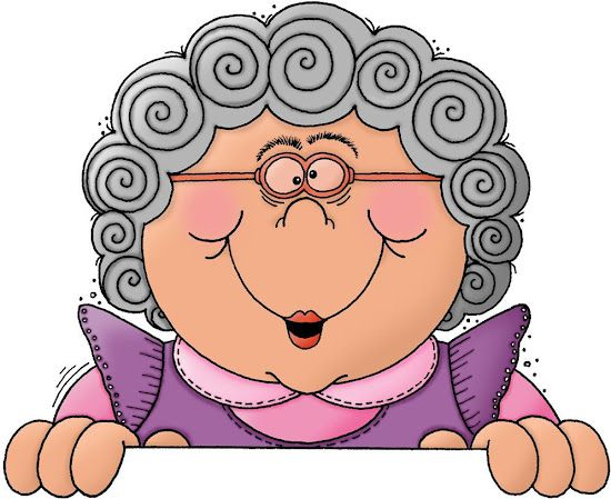 funny granny clipart - photo #24