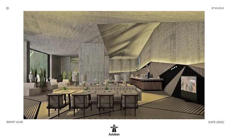 Savoy Ulus Lounge, Café and Multimedia Room by BERLINE Fine Interiors