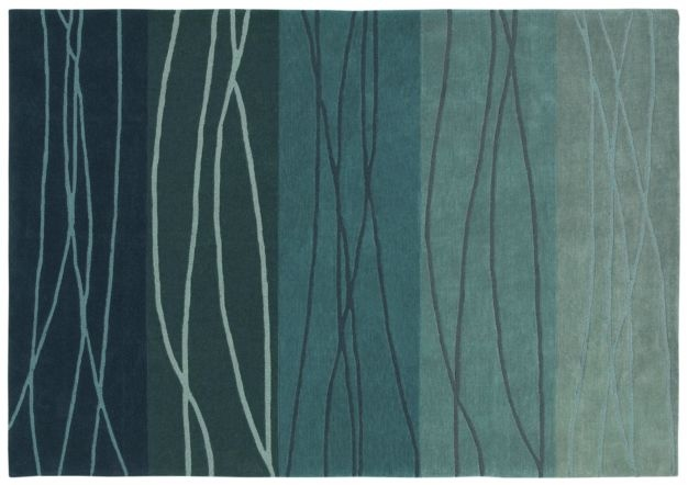 AreaRug Cadential - 3K091 - Blue - Flooring by Shaw