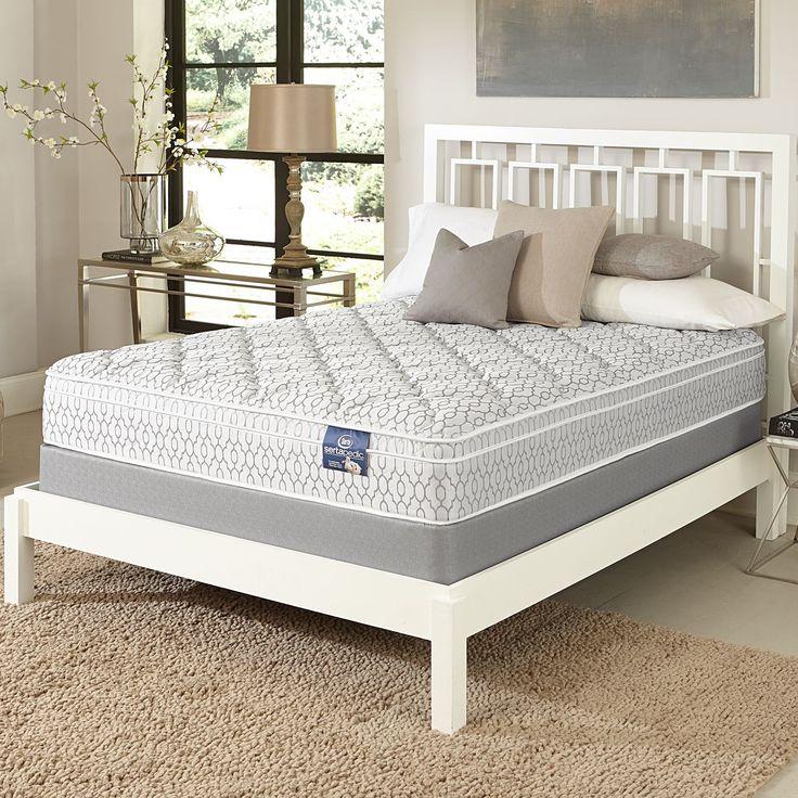 serta gleam euro top fullsize mattress set full mattress with 9 profile boxspring