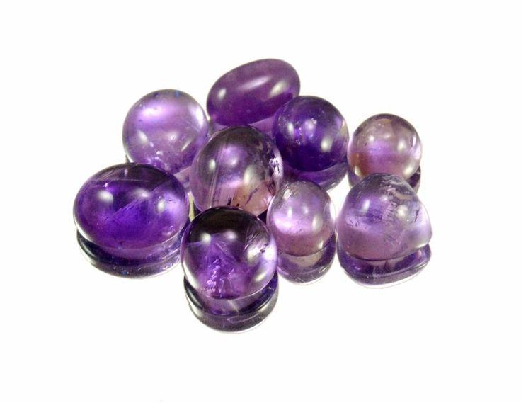 26ct / 9pcs VS Natural Purple Amethyst Quartz Loose Gemstone Wholesale Lot #krishnagemsnjewels #Amethyst #Quartz #Loose #Gemstone From India