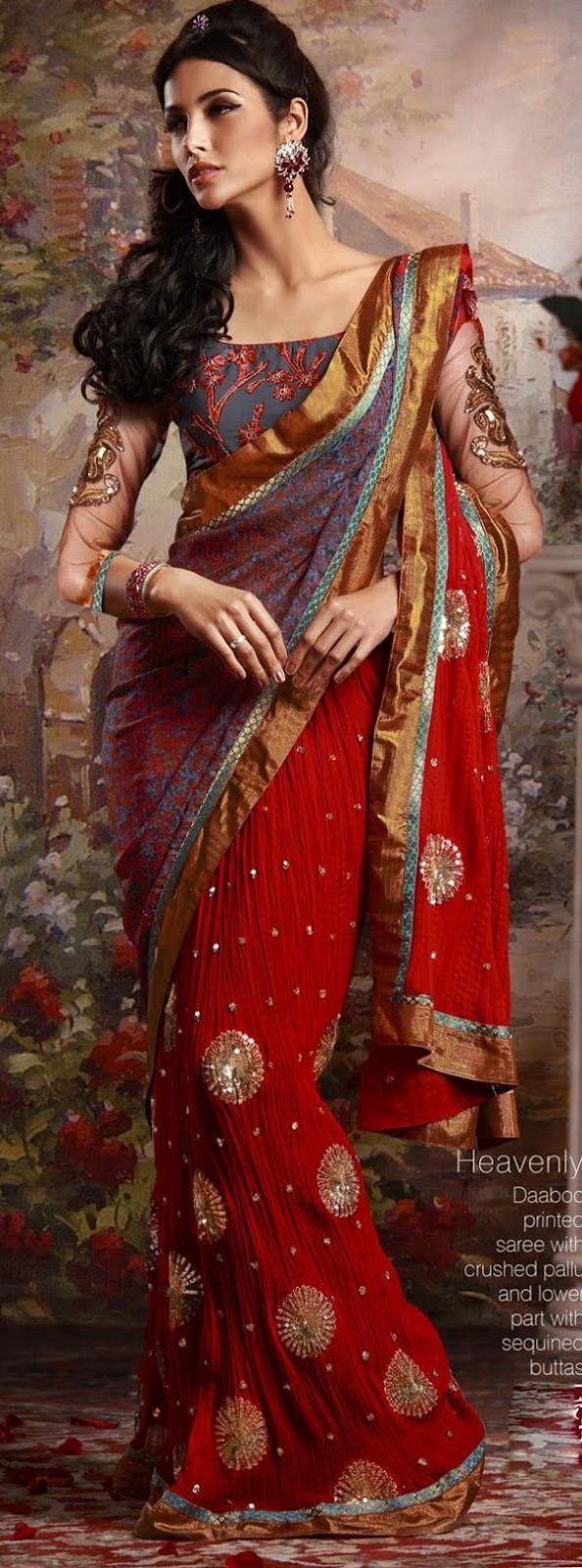 Lattest Bollywood Sarees Fashion