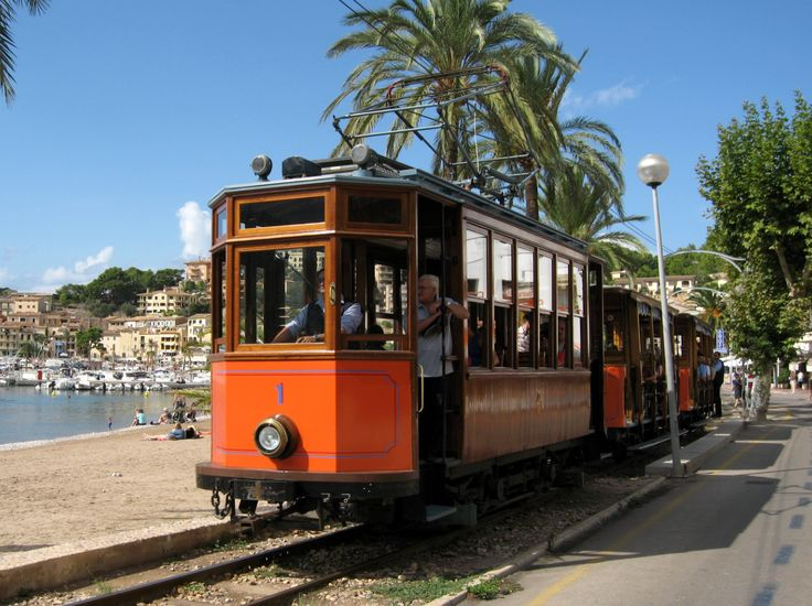 Daytrip - take old wooden train 25k to Sollér, a lovely little town further north. From there take an equally lovely old tran a few kilometres to Port de Soller - a lovely port town with great seafood for lunch! The train station for Soller is close to the normal train station i Palma, but has it´s own building. The timetables seem a bit erratic and the ticket booth only opens 30 min or so before departure - so plan your trip to avoid irritation!