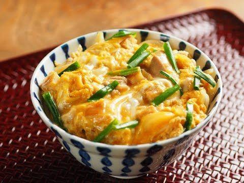 半熟とろとろ親子丼 、 さつま揚げで美味しさアップ!作り方動画 魚料理と簡単レシピ