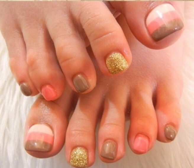 Best 10 Fall Toe Nails Ideas On Pinterest: 1000+ Ideas About Fall Pedicure Designs On Pinterest
