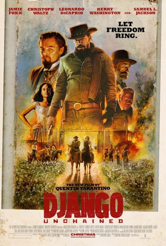 Quentin Tarantino quiere convertir 'Django desencadenado' en una mini-serie de cuatro horas - El Séptimo Arte