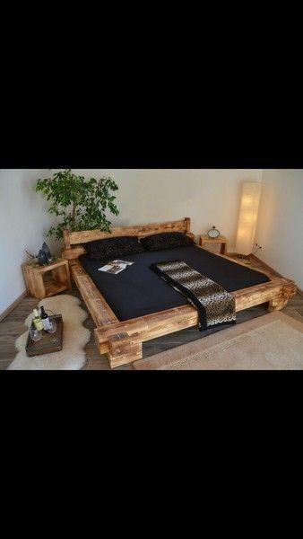 Außergewöhnliche betten mit licht  Die besten 25+ Holzbett selber bauen Ideen auf Pinterest ...