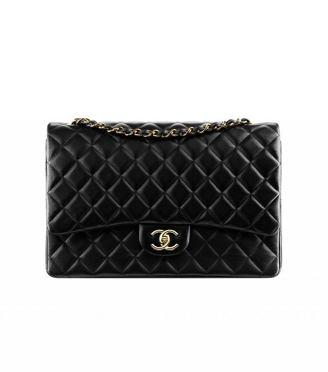 Classic flap bag, lambskin & gold metal-black - CHANEL | wishlist. |  Pinterest | Latest handbags, Chanel official website and Chanel official