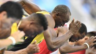 BONJOUR A TOUTES ET TOUS PROGRAMME DU JOUR RIO 2016 (Usain Bolt au départ du 100m.)
