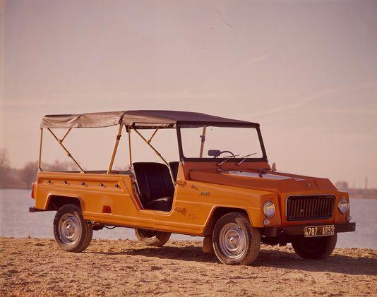 Renault Rodéo, la rustique à l'air libre