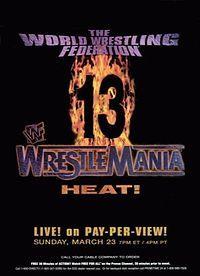 WrestleMania 13 - Cover March.23, 1997