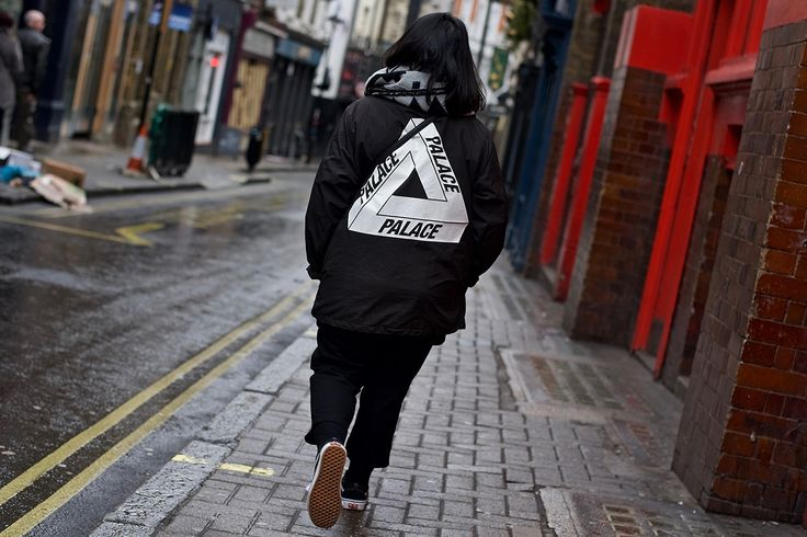 Highsnobiety's roaming photographers hit up London's Brewer Street to document the street style on display at the launch of Palace's SS16 collection.