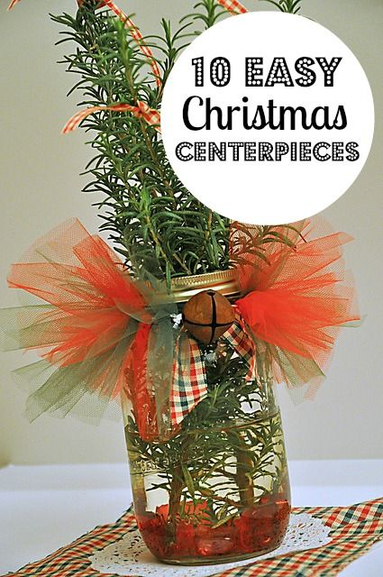 10 Easy Christmas Centerpieces You Can Make The O 39 Jays