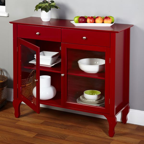 Rustic Red Kitchen Cabinets best 25+ red buffet ideas only on pinterest | red painted