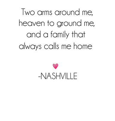 #Nashville Quote. Lennon & Maisy song.