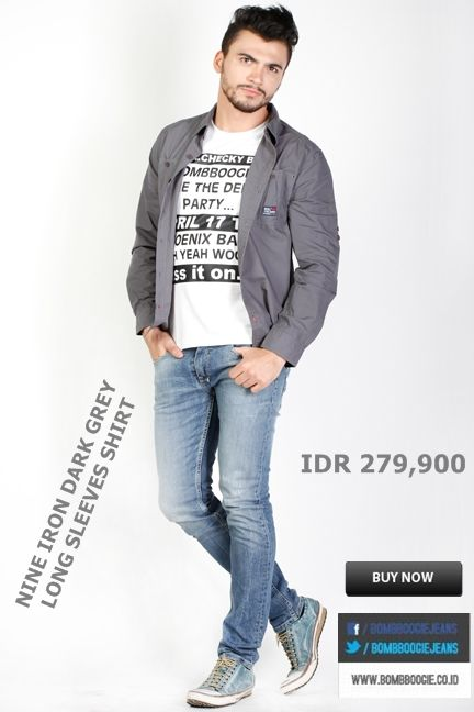 Kemeja + Kaos + Jeans ini keren dipadukan mas bro IDR 279,900 >> http://ow.ly/uJoI7