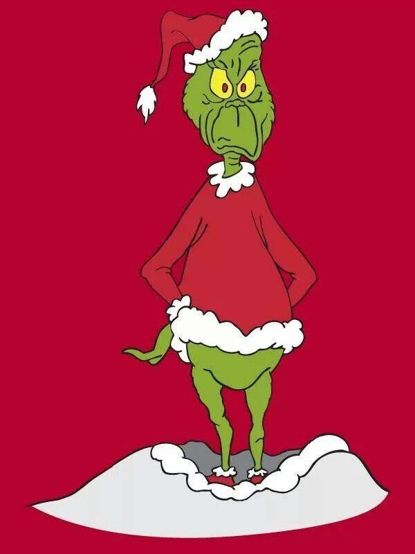 Mr Grinch Christmas Pinterest