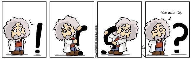 Einstein por Carlos Ruas
