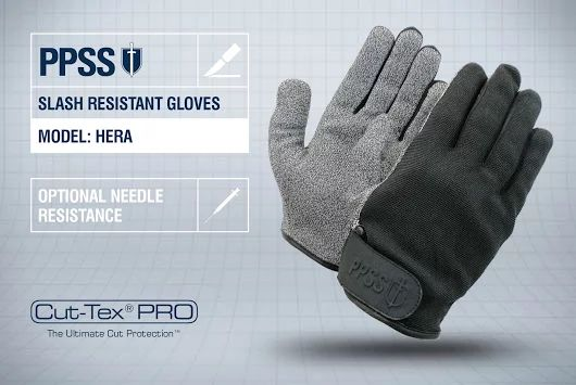 PPSS #SlashResistantGloves (Hera) with optional #needleresistance