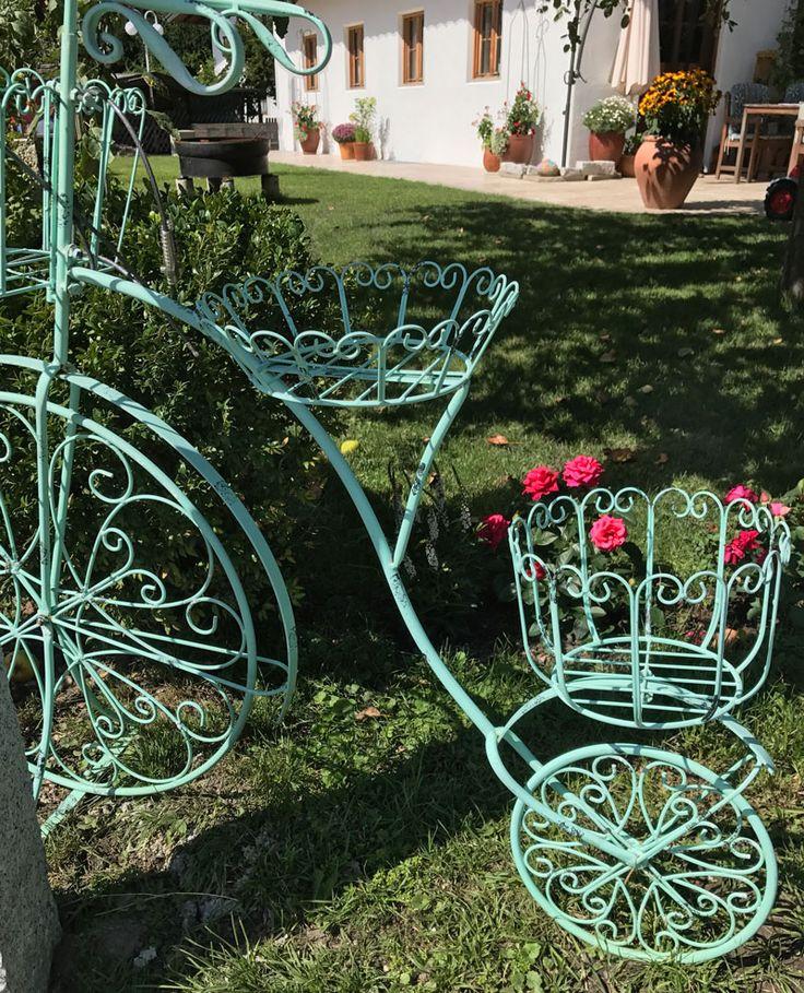 die besten 25 deko fahrrad ideen auf pinterest fahrrad. Black Bedroom Furniture Sets. Home Design Ideas