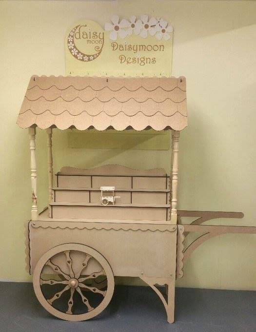 Candy Cart by DaisymoonDesignsLtd on Etsy