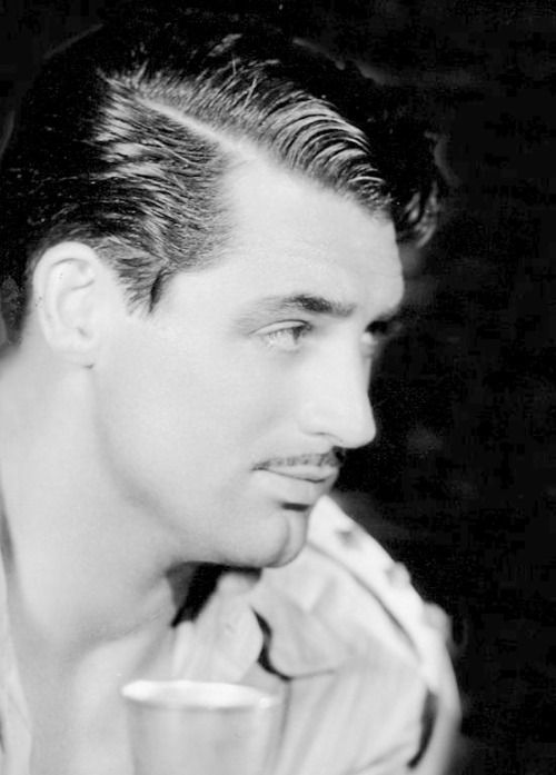Cary Grant with a mustache.