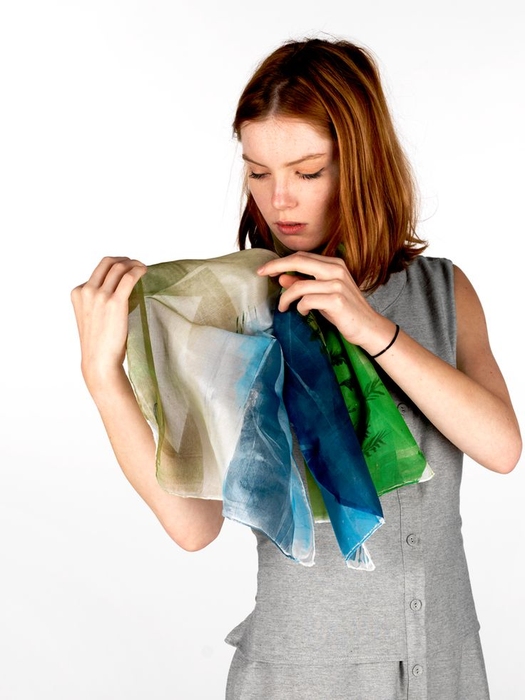 Daubs & Dashes: Camber silk scarf - Iceland Collection A/W 16