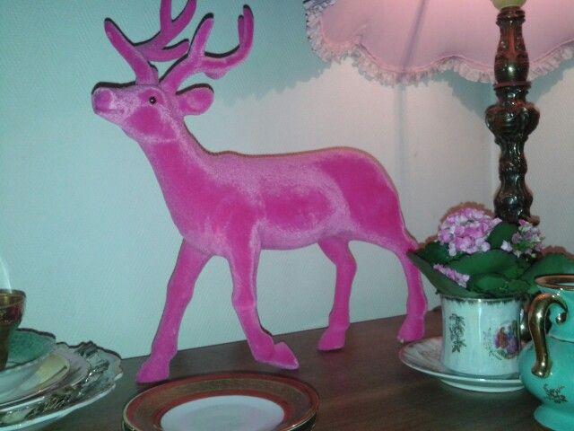 roze kerst...