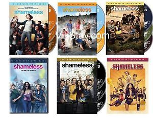 Shameless Season 1-6. Complete Seasons 1,2,3,4,5,6 Brand new DVD