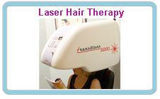 Laser hair therapy treatments or Low level laser hair therapy (LLLT) is a revolutionary, non-surgical breakthrough for both men and women suffering the devastating effects of hair loss.  Now it is easier than ever to achieve thicker, fuller, shinier, and healthier looking hair.