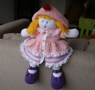Noddy Doll Knitting Pattern : 184 Best images about Pleteni on Pinterest Toys, Knitting and Drops design
