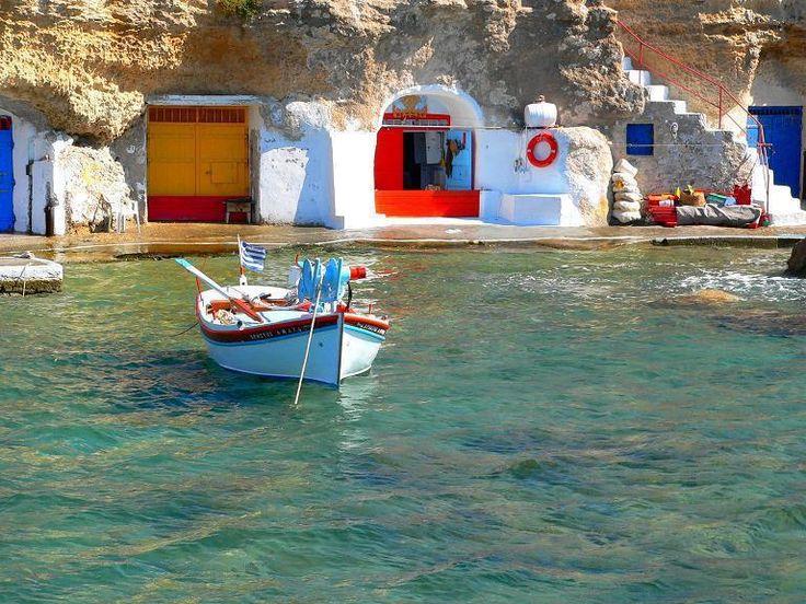 Milos - the most beautiful island... Naxos Greece